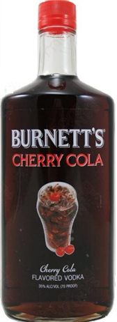 Burnetts Vodka Cherry Cola